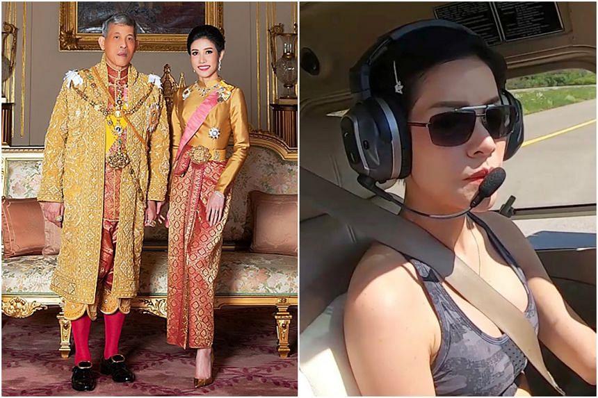 Thai King Maha Vajiralongkorn's royal consort, 34-year-old Major-General Sineenat Wongvajirapakdi, has been dismissed for being ungrateful to the king.