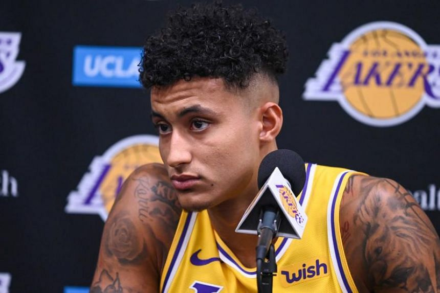 Los Angeles Lakers player Kyle Kuzma suffered an injury in his left foot during the summer while he was with Team USA in Australia.