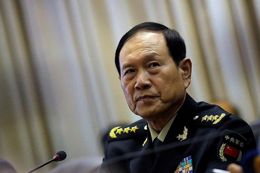 General Wei Fenghe said foreign interference can cause wars and turbulence.