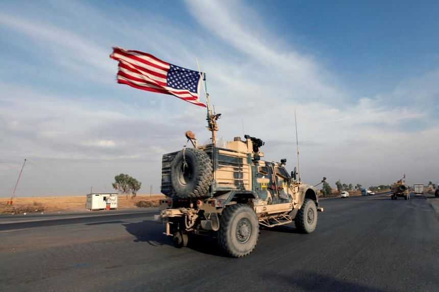 With US forces rushing for the exit, in fact, US officials said last week that they were already losing their ability to collect critical intelligence about ISIS' operations on the ground.