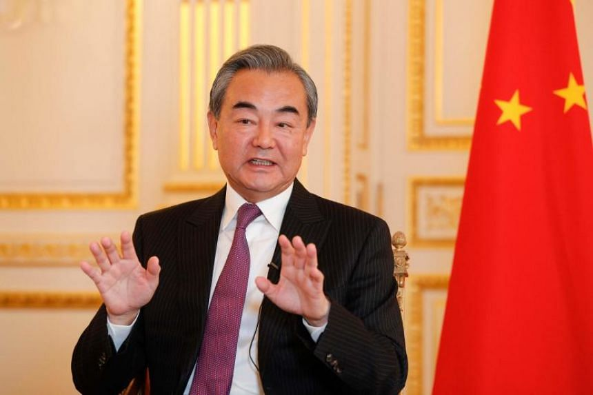 Chinese Foreign Minister Wang Yi said during an interview with AFP in Paris on Oct 21, 2019 that what is happening in Hong Kong are in no way peaceful protests but violence pure and simple.