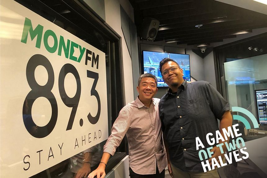 Money FM's Bernard Lim (left) is joined by ST sports correspondent Sazali Abdul Aziz (right) and they talk about Juergen Klopp's frustrating evening at Old Trafford