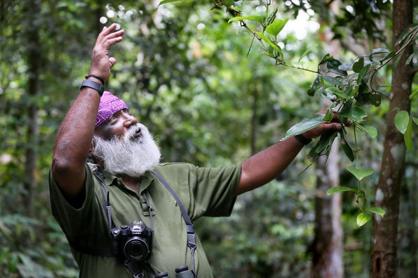 Mr Subaraj Rajathurai was a wildlife consultant and a well-known conservationist here.