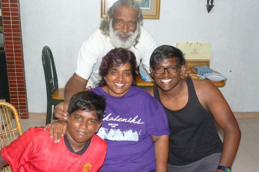 Mr Subaraj Rajathurai leaves behind his wife Shamla and two sons - Serin and Saker - whom he named after two bird species.