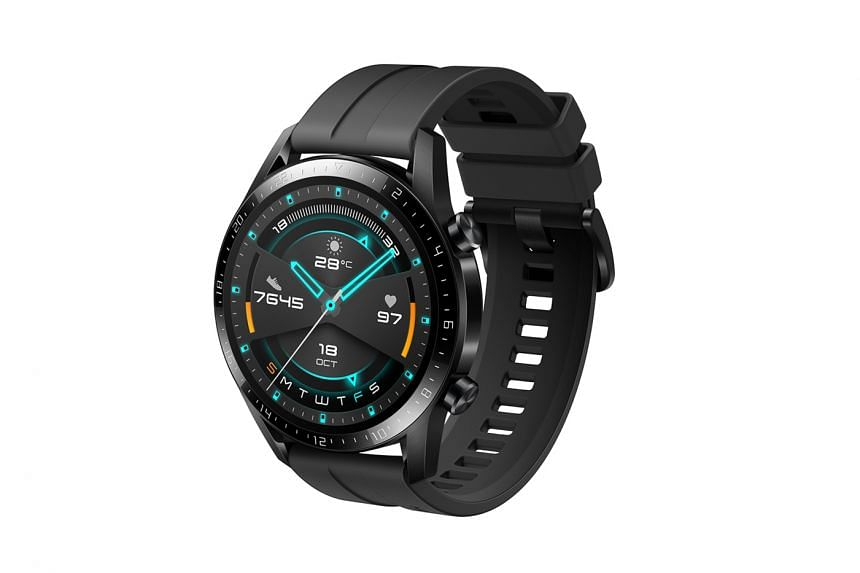 Huawei's GT 2 is easily one of the better-looking smartwatches, with a classic look that can pass for a classy dress watch.
