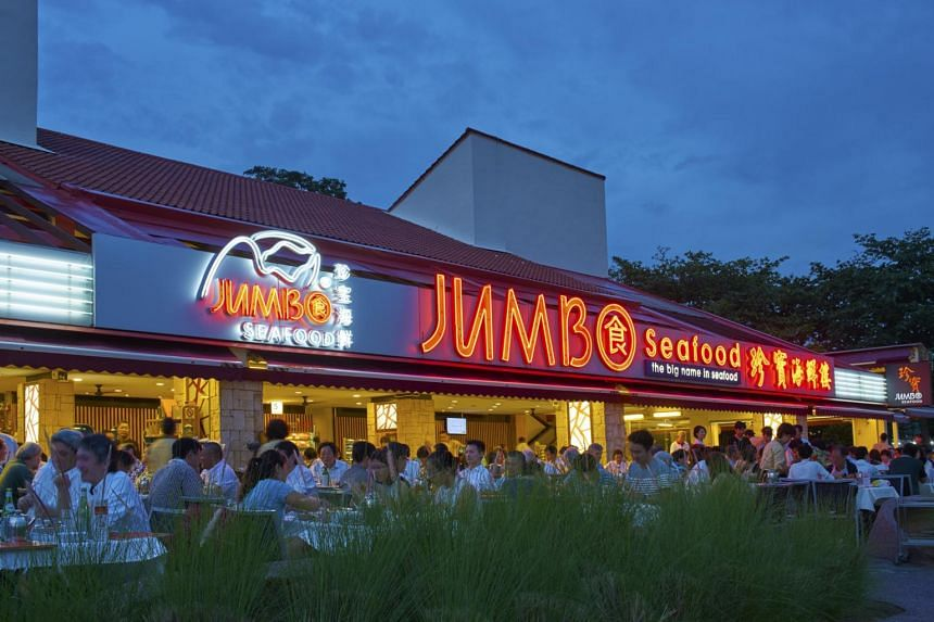Jumbo Seafood restaurant outlet at East Coast Seafood Centre. The second Jumbo Seafood restaurant in South Korea is located at the rooftop of Didim Town building, Ilsan, an approximately half an hour's drive from Seoul.