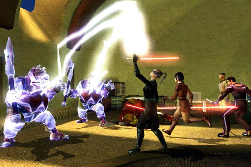 Star Wars: Knights Of The Old Republic has balanced combat features and a scintillating storyline.