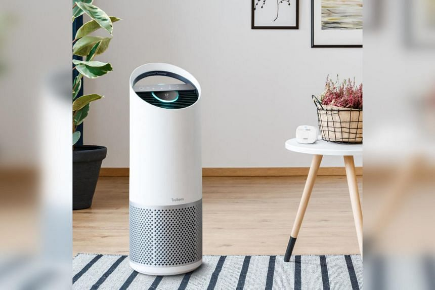 The Z-3000 model is the most powerful of TruSens' three air purifiers, covering an area of up to 70 sq m.