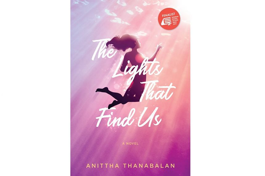The Lights That Find Us (above) is by Singaporean author Anittha Thanabalan (top).