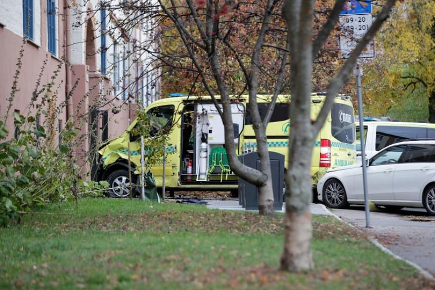 Norwegian police arrested an armed man who, according to media reports, went on the rampage in Oslo in a stolen ambulance, running down pedestrians including a baby in a pram on Oct 22, 2019.