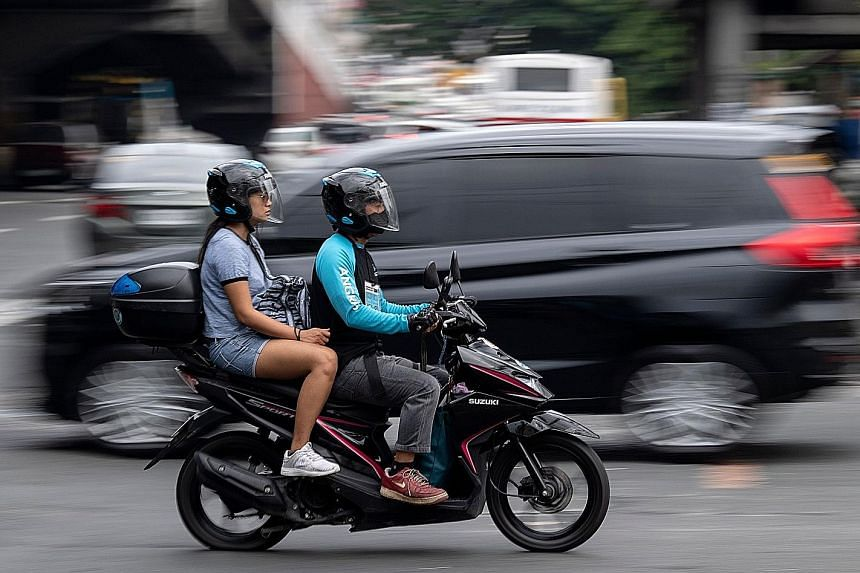 A Telegram chat group was started on Oct 4 to facilitate motorbike pooling services here. As of yesterday evening, the group had around 2,080 members.