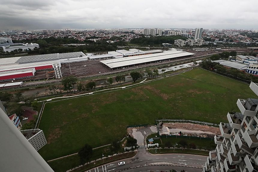 The Bishan East site for the proposed public housing development used to house the ITE College Central's Bishan campus until it moved out in 2013. The campus was then taken over by St Joseph's Institution until end-2016. ST PHOTO: KELVIN CHNG
