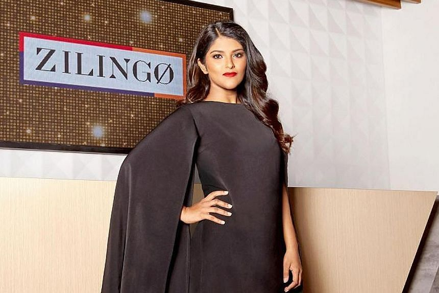 Zilingo chief executive Ankiti Bose says her firm levels the playing field in fashion so that businesses can have access to a fair, transparent, affordable and fast supply chain. PHOTO: ZILINGO