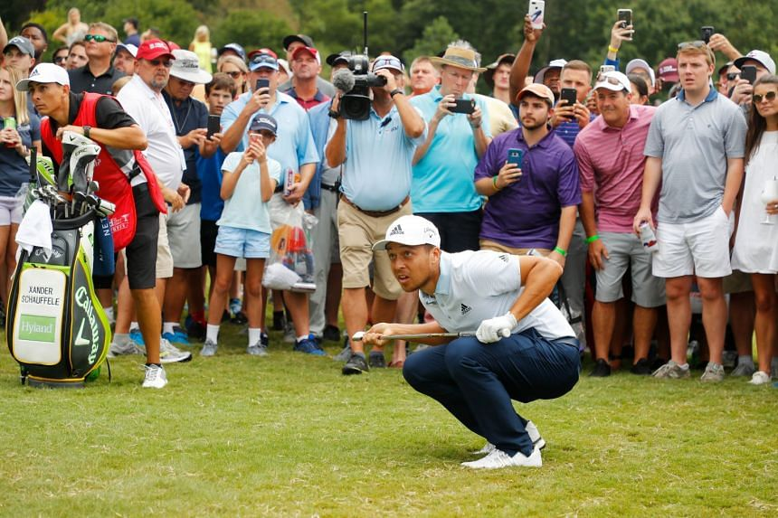 Xander Schauffele will be cheered on by many relatives from Japan at the ZOZO Championship in Chiba.
