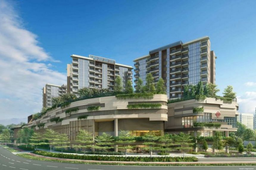 Apart from nine blocks of apartments, Sengkang Grand Residences also comes with a retail mall, a community club, a hawker centre, a community plaza, a childcare centre and a bus interchange.