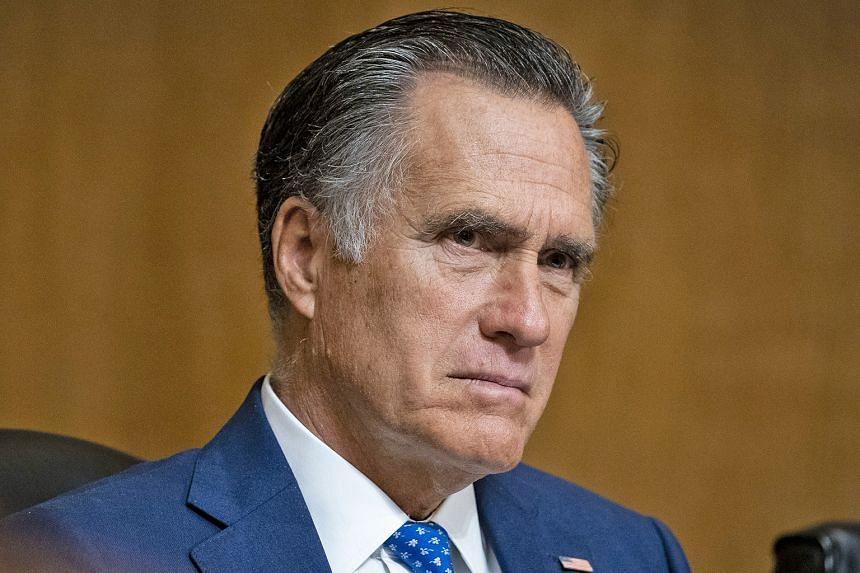 Republican Senator Mitt Romney (above) has signalled he may be open to impeaching US President Donald Trump.