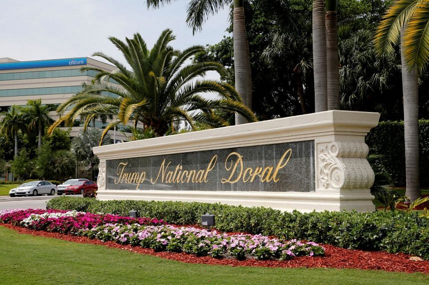 """President Donald Trump's promotion of his Doral resort for the G-7 summit provided the President's personal property with """"invaluable publicity"""" that in and of itself may amount to an emolument, a House Democratic source said."""