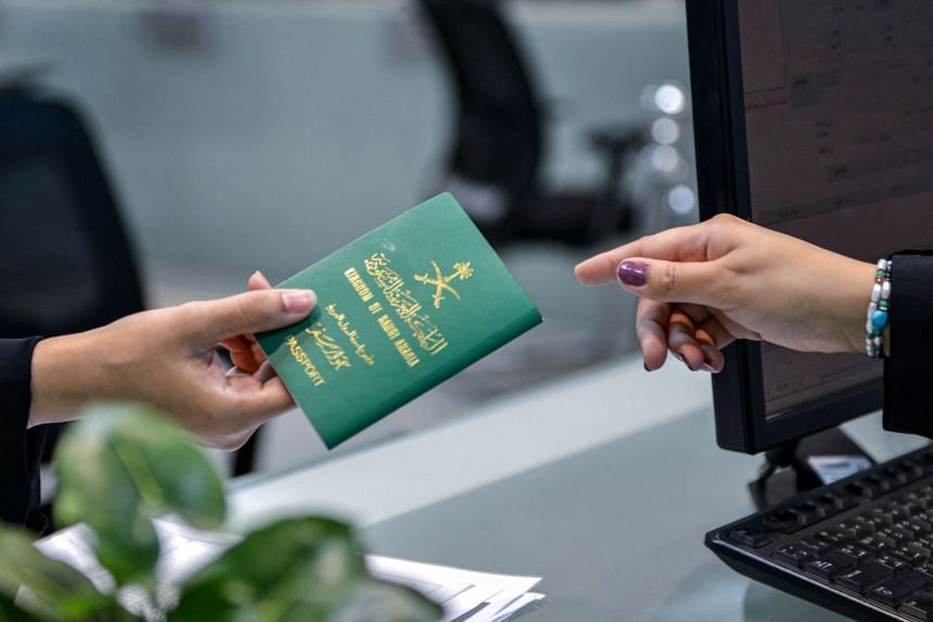 """In August, Saudi Arabia allowed women over the age of 21 to obtain passports without seeking the approval of their """"guardians"""" - fathers, husbands or other male relatives."""