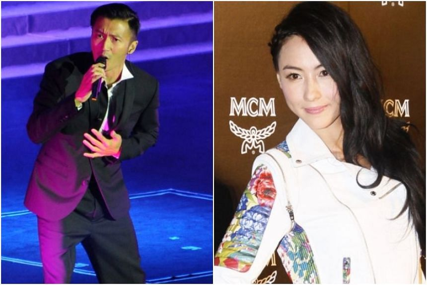 The 39-year-old Nicholas Tse has two sons from his five-year marriage with actress Cecilia Cheung.