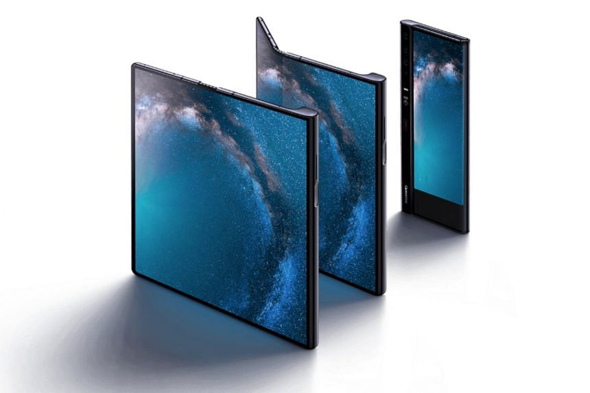 The new Huawei Mate X smartphone, a competitor to Samsung's Galaxy Fold which went on sale last month, will be launched officially on Nov 15 in China at prices starting from 16,999 yuan (S$3,270).