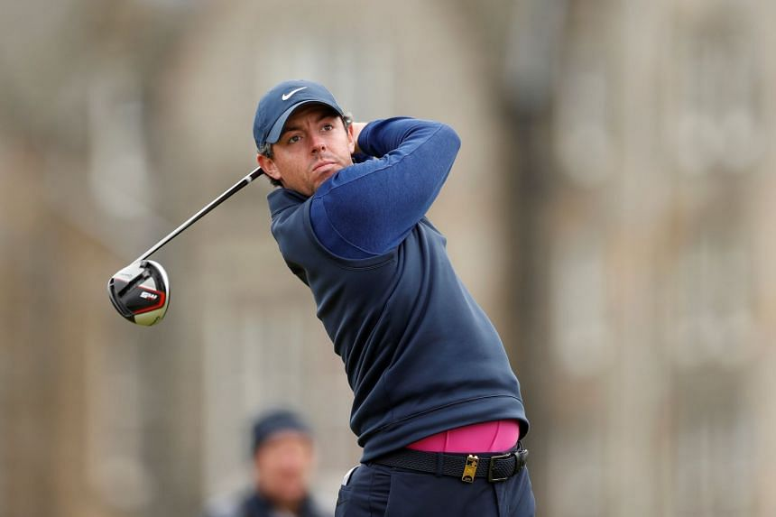 Northern Ireland's Rory McIlroy during the final round of the Alfred Dunhill Links Championship.