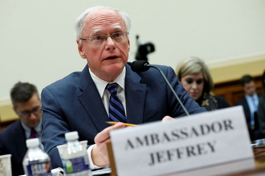 James Jeffrey testifies before the House Foreign Affairs Committee hearing.