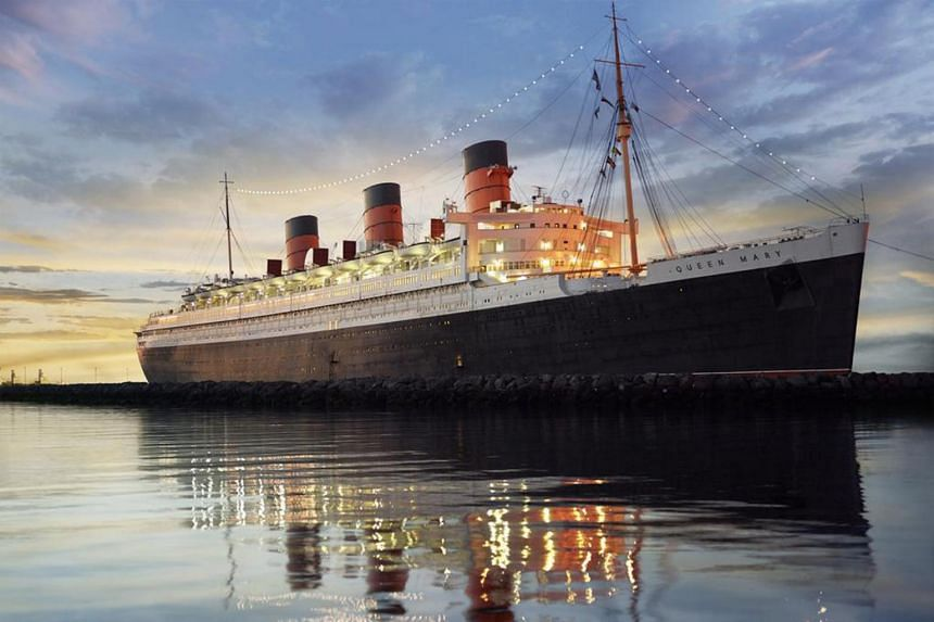 The Queen Mary, an historic former luxury cruise liner in California that has been converted into an upscale hotel as one of Eagle's key assets.