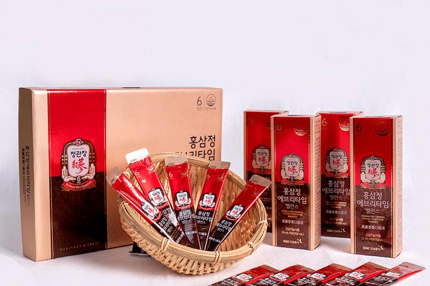 Looking for a natural health boost? Cheong Kwan Jang's Korean red ginseng products may help. PHOTO: EDAMAMEDIA PTE LTD