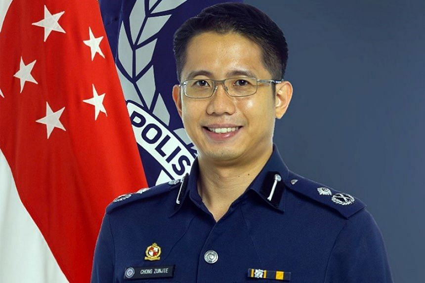 Assistant Commissioner Chong Zunjie will step down as commander of Tanglin Police Division on Nov 1 to become cluster director for the Pofma Office.