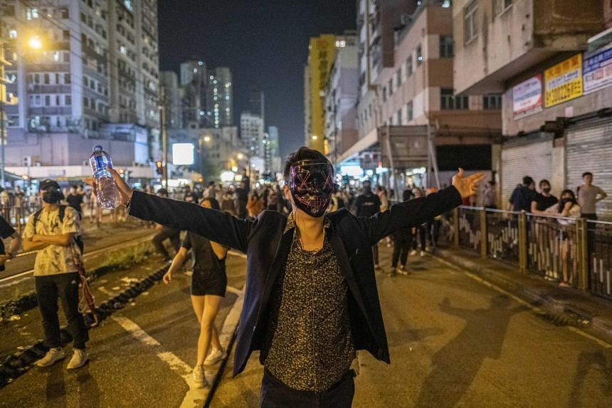 """The rallying cry of the protesters has been """"five demands, not one less"""", meaning that yesterday's withdrawal of the Bill makes no difference."""