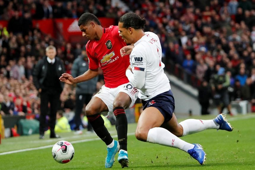 Ending Liverpool's perfect start has boosted Manchester United's morale after a shaky start to the season.