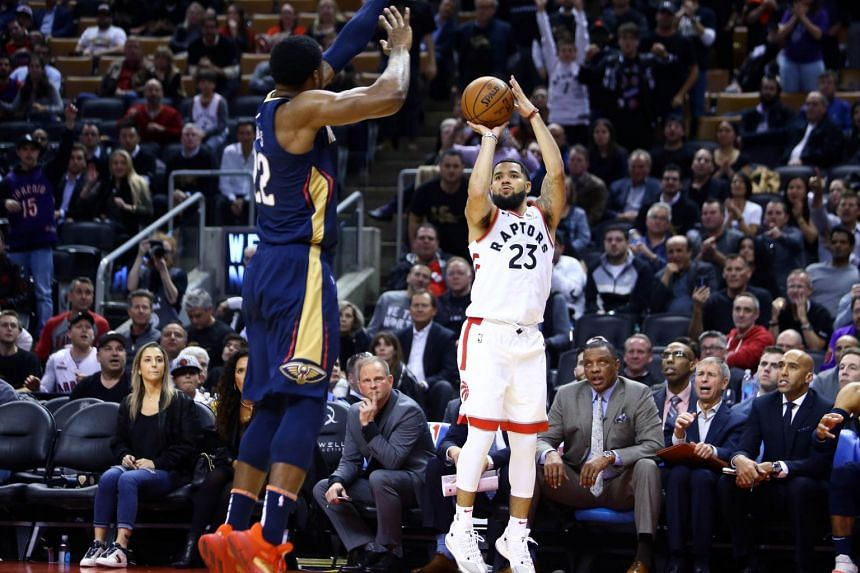 The Toronto Raptors went to work before seeing off the New Orleans Pelicans 130-122.