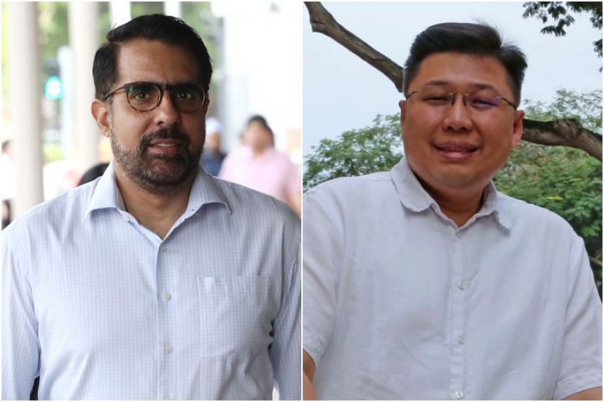 Workers' Party chief Pritam Singh and People's Action Party grassroots adviser Chua Eng Leong are sparring over a barrier-free access ramp that took seven years to complete.