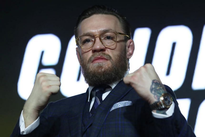 Conor McGregor (above) said he wants three fights in 2020, including rematches with Nate Diaz and Khabib Nurmagomedov, who defeated the Irishman in a lightweight title bout last year.