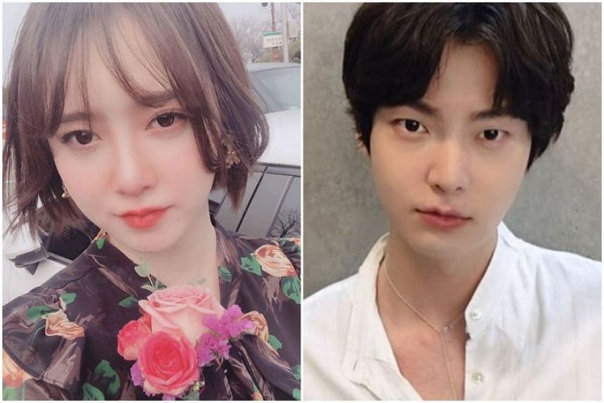 Actress Ku Hye-sun (left), who is embroiled in a bitter divorce with Ahn Jae-hyun, has shed more light on their relationship after a recent truce kept her quiet.