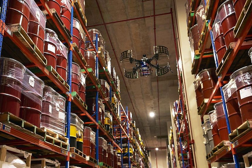 Logistics firm YCH Group already uses AeroLion Technologies' drones at its distribution centre in the Jurong Innovation District. The two firms will also collaborate to research and develop commercially ready technology.