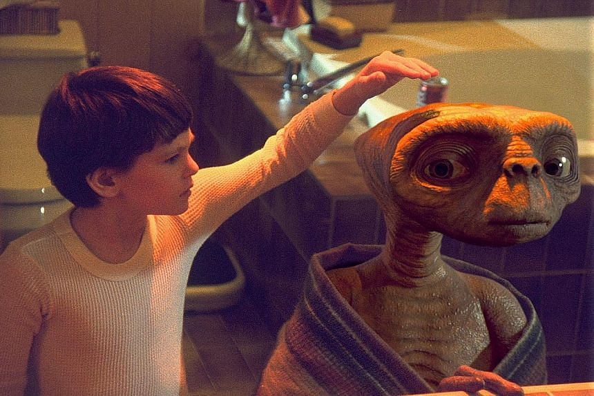Henry Thomas (left and below) played Elliott in the 1982 science-fiction film E.T. The Extra-Terrestrial.