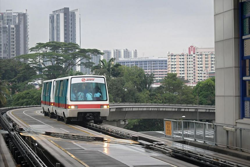 From Dec 1, the trains on the Bukit Panjang LRT will operate only the anticlockwise loop on Service B via Petir station during off-peak hours. The trains currently run in both directions.