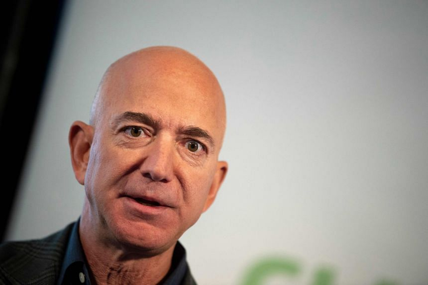 Amazon founder Jeff Bezos (above) took the top spot from Microsoft co-founder Bill Gates in October 2017.