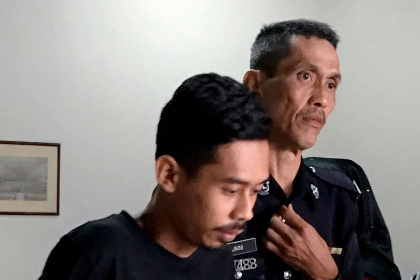 Shahrul Nizam Zuraimy is said to have murdered his wife and stepson on Oct 6.