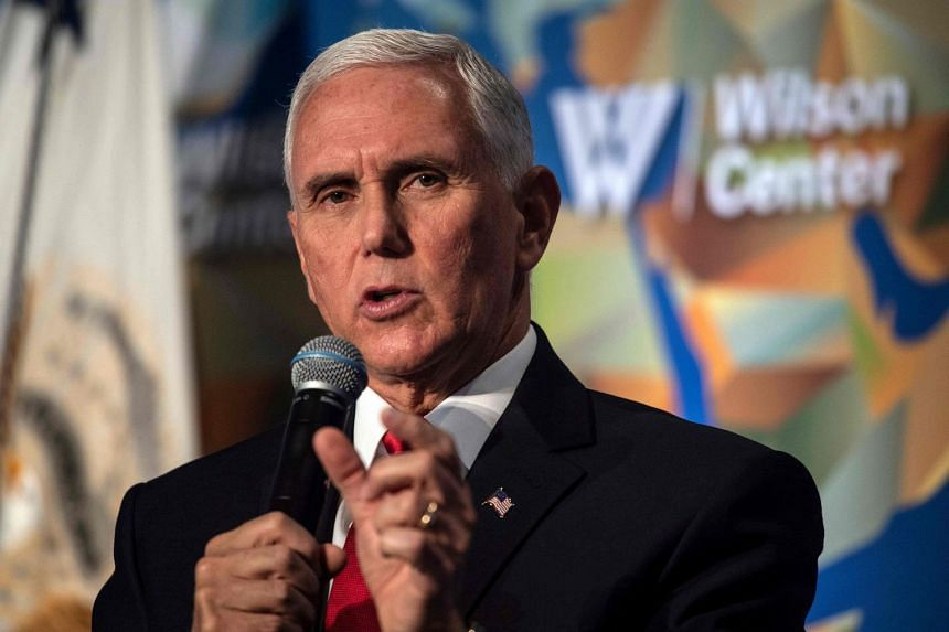 Mike Pence speaks on the future of the US' relationship with China.