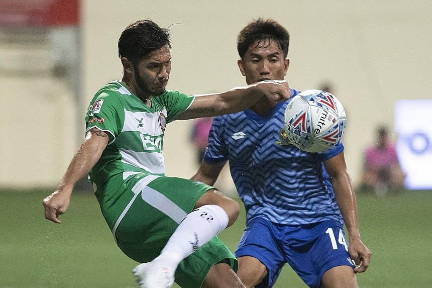 Christopher van Huizen started 17 Singapore Premier League games for Geylang International and has 10 assists.