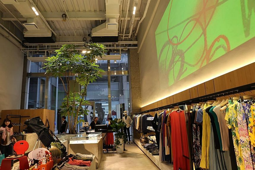 Beams will occupy the Colony Clothing store space at UE Square for a pop-up event until January.