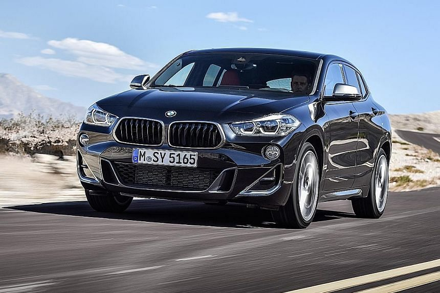 The BMW X2 M35i is an xDrive - BMW speak for all-wheel-drive.