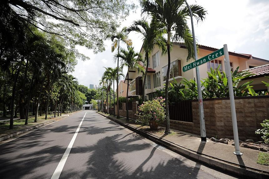 Pemimpin near Bishan (above) and Mei Hwan in Lorong Chuan (left) are among the 10 private estates that will get a facelift.