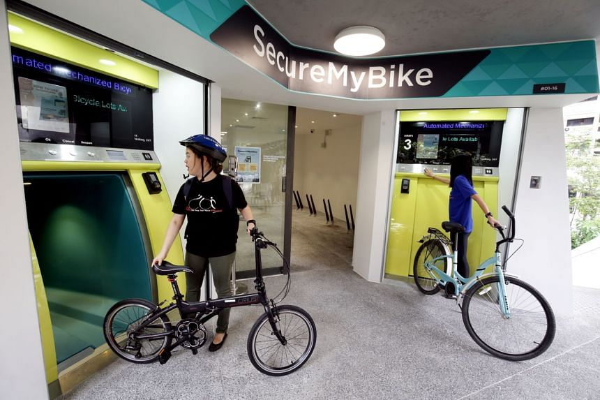 The bicycle parking system, SecureMyBike, can house more than 500 bicycles. However, between February 2018 and September 2019, just three of its lots were used daily.