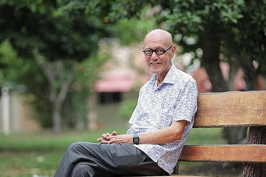 """Mr James Seah, 71, and his peers grew up in what the Finance Ministry report called a """"fragmented school landscape"""". Few went on to achieve more than secondary education. Mr Seah says: """"In my time, studying until Secondary 4 was already a very big de"""