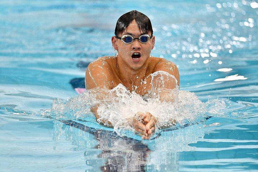 Joseph Schooling finished sixth in yesterday's 100m butterfly at the Australian Short Course Championships. He will be gunning to add to his tally of 23 golds from four SEA Games in the Philippines.