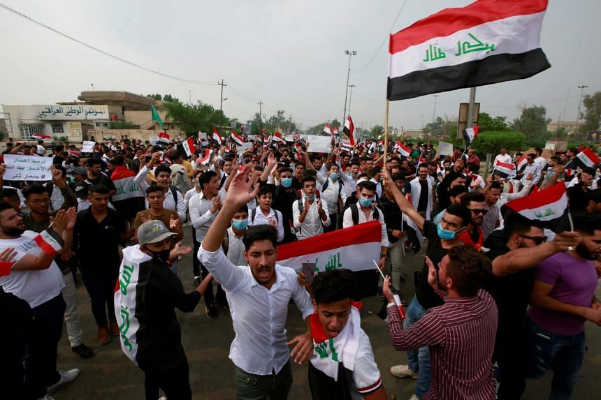 Iraq's capital and the country's south have been rocked by a second wave of rallies over perceived government corruption, unemployment and poor services.