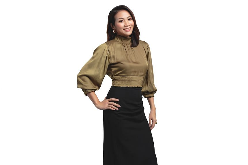Manisha Tank hosts Money FM 89.3's The Breakfast Huddle from 6 to 9am on weekdays with Elliott Danker and Ryan Huang, while Carrie Chong (above) hosts Kiss92's Saturday morning shows from 6 to 10am.